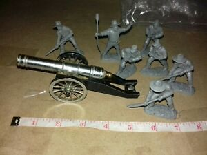 VINTAGE  MILITARY MINIATURE METAL MODEL No 382 MADE IN ITALY BY GT & Figures