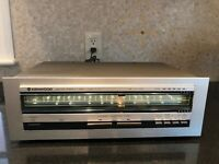Mint Kenwood AM/FM Stereo Tuner Receiver KT-413 Perfect Working Condition