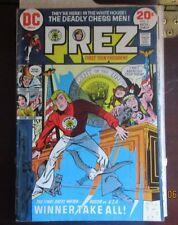 DC Comics   PREZ #2  VG+    Joe Simon  SET BREAK