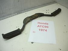 1974 Honda ATC90 ATC 74-79 footpegs pegs rubber covers straight nice video #91