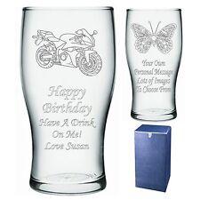 Personalizado Pint Glass tío hermano Sobrino Regalo De Cumpleaños-presente-IMI