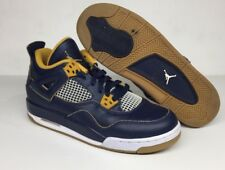 2016 Nike Air Jordan 4 IV Retro GS Dunk From Above Navy Size 6.5Y (408452-425)