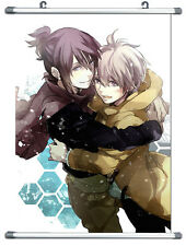 "B214  Anime No.6 Shion & Nezumi Wall Scroll  Cosplay  10""x14"""