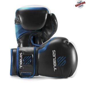 Guantes De Boxeo Entrenamiento Cuero Gel 8 oz Alto Rendimiento Gran Calidad
