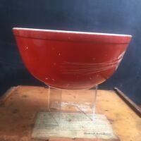 "Vintage Pyrex Autumn Harvest Wheat Mixing Bowl #403 2.5 Liter 8.75"""