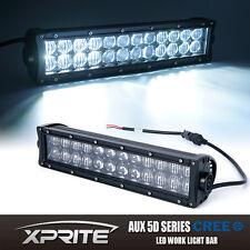 Xprite 72W CREE 5D Fisheye Lens LED Offroad Light Bar Spot Flood Combo 14 Inch