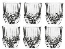 RCR adagio Set di 6 bicchieri cristallo whisky Bicchieri Succo Acqua Bicchieri