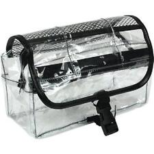 CLEAR VINYL TRAVEL  DOPP KIT TC-41 Cosmetic Case Toiletries Hangable Ditty Bag