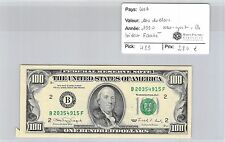 BILLET USA - 100 DOLLARS 1990 - BILLET FAUTÉ - NEW YORK B