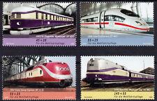Bundesrepublik 2560/63 ** Wohlfahrt 2006, Eisenbahnen postfrisch
