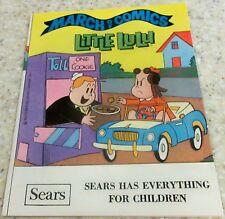 MARCH OF COMICS 389 LITTLE LULU RARE GIVEAWAY PROMO FILE COPY NM 1973