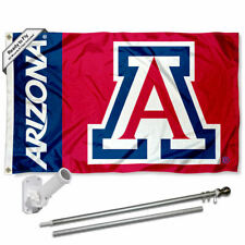 Arizona Wildcats Flag Pole and Bracket Gift Package