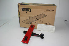 ERTL SCALE MODELS 1927 RYAN AIRPLANE, SPIRIT OF ST. LOUIS, CAM 2 RED AVIATOR