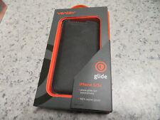 Ventev Glide Apple Iphone 5/5S/SE Black Leather Case Pouch
