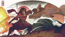 """Avatar Poster The Legend of Korra Anime Art Silk Wall Huge Posters 36x20"""" AVT19"""