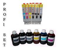 Auto Reset cartuchos para Canon PIXMA mg6350 mg6450 mg7150 + 600ml marcas tinta