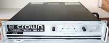 Crown Macrotech 36x12 Power Amplifier with PIP Card 2 Channels