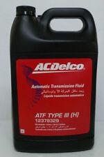 Genuine Holden ACDelco Auto Trans Fluid Type III 4Lt - 12378329 ( Dexron III )
