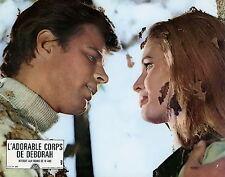 IDA GALLI  JEAN SOREL L'ADORABLE CORPS DE DEBORAH 1968 VINTAGE LOBBY CARD N°5