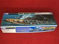 HMS Dorsetshire 'Indian Ocean Raid' 1/700 Scale Plastic Model Kit AOSHIMA