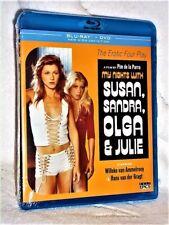 My Nights With Susan Sandra Olga And Julie (Blu-ray/DVD, 1975) NEW Willeke van