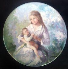 Vintage Limoges Plate 'Monique et Francois' Guy Cambier #AD170