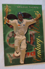 Cricket Collectable - Futera Elite Card - Century Makers Series - Graham Thorpe
