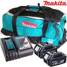 Makita 2 x BL1840 BATTERIA + Caricabatterie DC18RC + sacchetto LXT600 Makita DDA350Z, DDA351Z