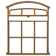 Fenster zum Öffnen rost Stallfenster Eisenfenster Eisen 71cm Antik-Stil (d2)