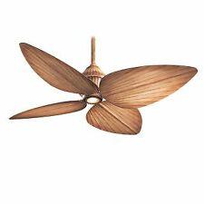 "MinkaAire F581-BG 4 blade 52"" Indoor / Outdoor Ceiling Fan - Light, Wall Control"