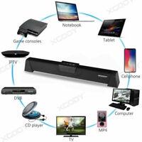 20W 52CM TV Speaker Soundbar Bluetooth Wireless Home Theater Sound Bar Speaker