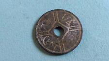 French INDOCHINE FRANÇAISE 1/4 Cent 1943  Osaka