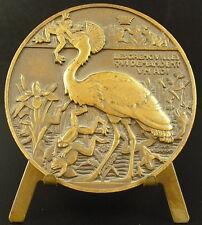 Médaille Fables de La Fontaine Les grenouilles qui demandent un roi Vernon medal