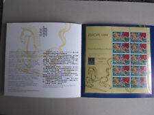 Guernsey Europa 94 miniature sheet in special folder - CTO - see details below
