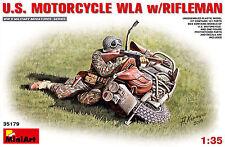 MINIART U.S. US MOTORCYCLE CSD with Rifleman MOTO KIT 1:35 KIT 35179