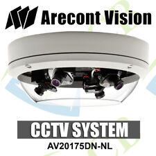 Arecont Vision SurroundVideo AV20175DN-NL 20MP H.264 All-in-One Omni CCTV Camera