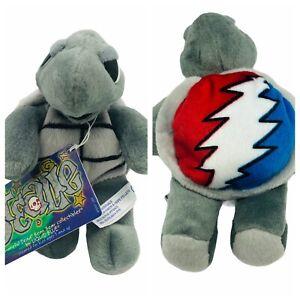 "7"" Stealie Liquid Blue Grateful Dead Bean Bear Collectibles Turtle Plush Stuffed"