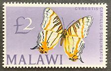 Malawi. £2 Butterfly. SG262. 1966. MNH. (C278)