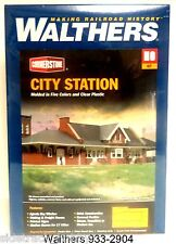 HO Scale Walthers Cornerstone 933-2904 City Station Building Kit