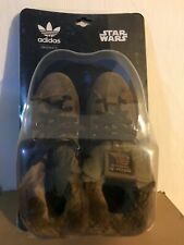ADIDAS ORIGINALS STAR WARS CHEWBACCA WOOKIES  9.5 US Hi Han Solo Skywalker Vader