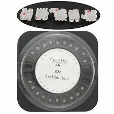 10set Dental Orthodontic Class One Ceramic Brackets Brace Mini Roth 022 345 Hook