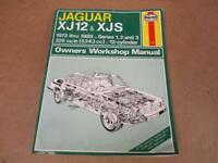 Haynes 1972-85 Jaguar XJ12 XJS Owners Workshop Manual