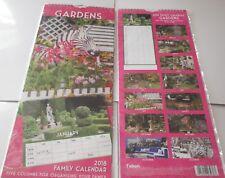 Uno stile di Giardini 2018 mese di grandi dimensioni 2 vista calendario 5 COLONNE famiglia Organizzatore