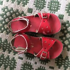 Sun-San Saltwater Sweetheart Kids Sandals Red Size 10 (infants)