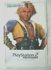 55922 Instruction Cheat Card 016 - Final Fantasy X - Sony PS2 Playstation 2 () O