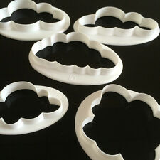 5x Cloud Cake Cutter Mold Fondant Pastry Cookie Sheep Mould Decor DIY Tool LD