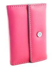 Bolso para Apple iPod nano, funda protectora, funda, estuche, protección Wallet lila Pink