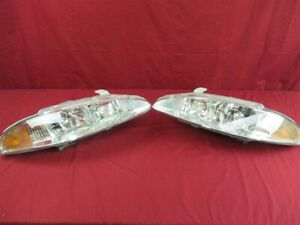 NOS OEM Eagle Talon Headlamp Light w/Chrome Backing 1995 - 98 Left Right Hand
