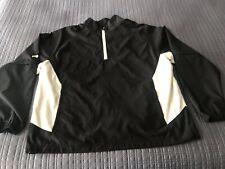 Ping 1/4 Zip Convertible Windbreaker Golf Jacket Men's XL Black Pullover