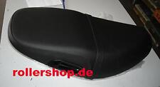 Sitzbank Piaggio ZIP SP, Fastrider, ZAPC07, ZAPC11, hinten 4 cm hoch, Riemen